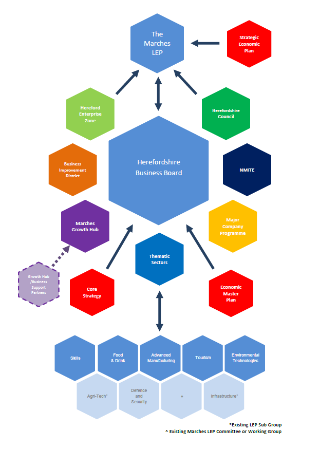 HBB Structure and Strategic Relationships